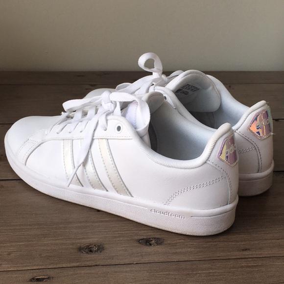 Adidas Neo Cloudfoam Women's Irridescent Sneaker